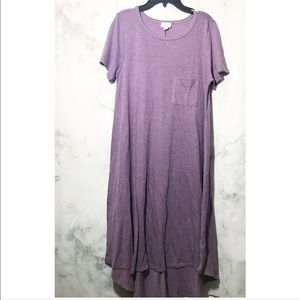 Lularoe Purple Short Sleeve Dress